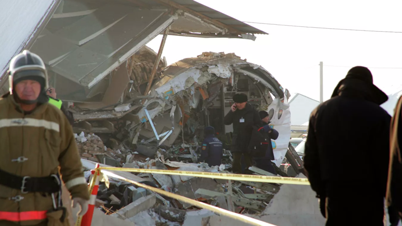 МАК завершил расшифровку самописцев разбившегося в Казахстане самолёта