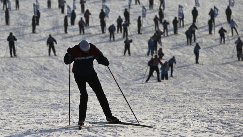 В Тверской области прошёл первый тур регионального чемпионата по лыжным гонкам