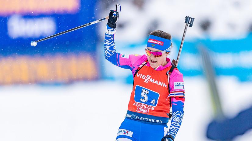 Биатлонистка Юрлова-Перхт выступит на этапе КМ в Рупольдинге