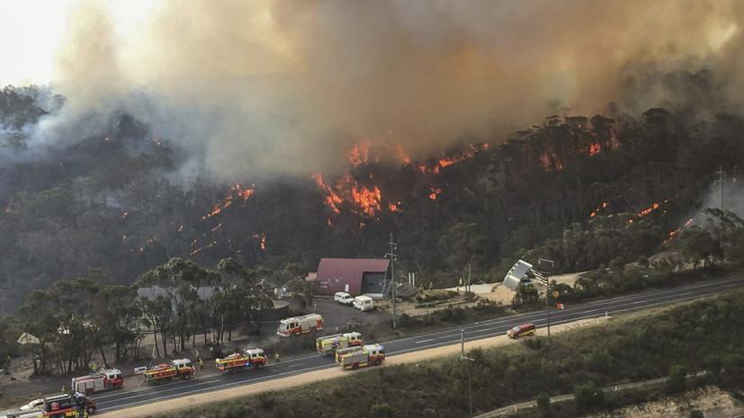 На МКС оценили масштабы пожаров в Австралии