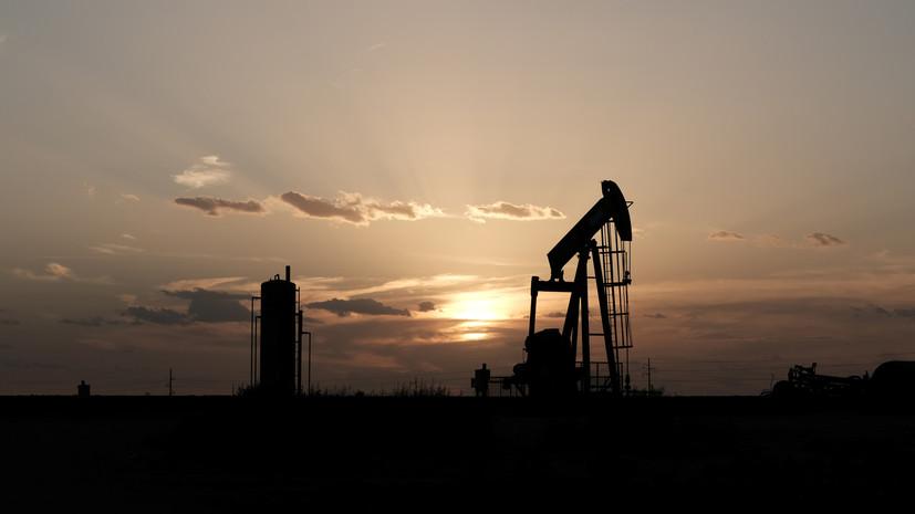 Цена нефти Brent упала ниже $64 за баррель