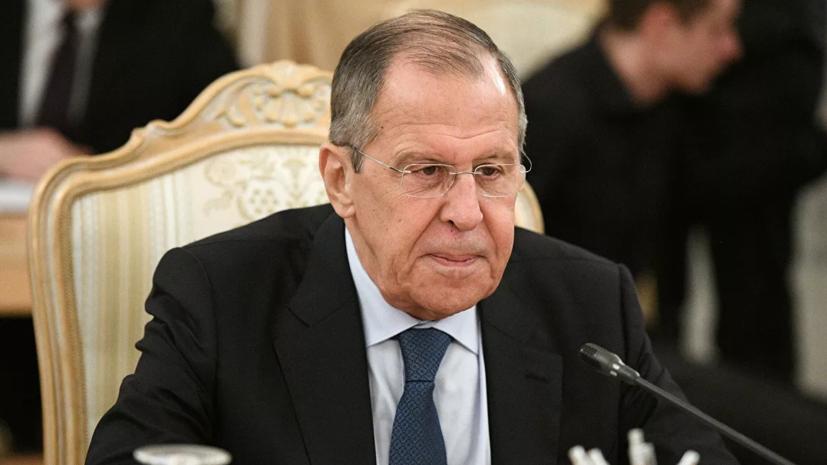 Лавров прокомментировал ход урегулирования конфликта в Ливии