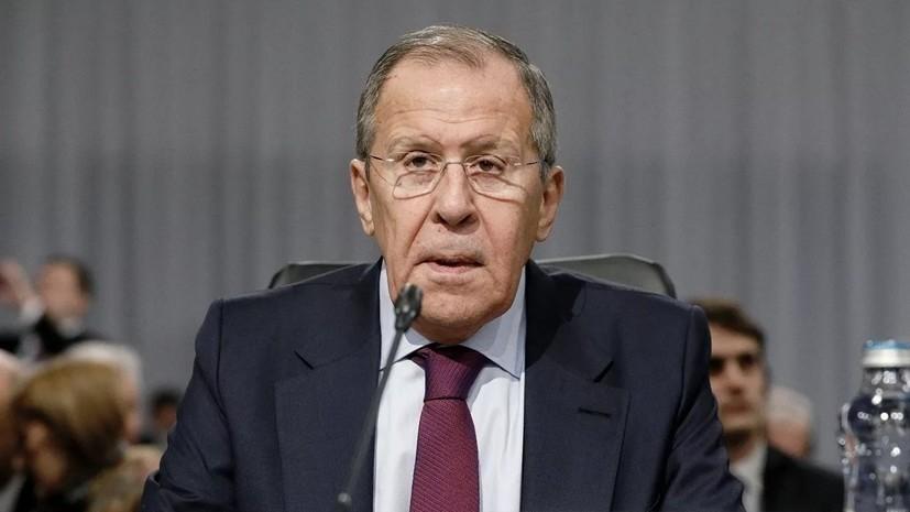 Лавров назвал убийство Сулеймани кульминацией противоправных действий США