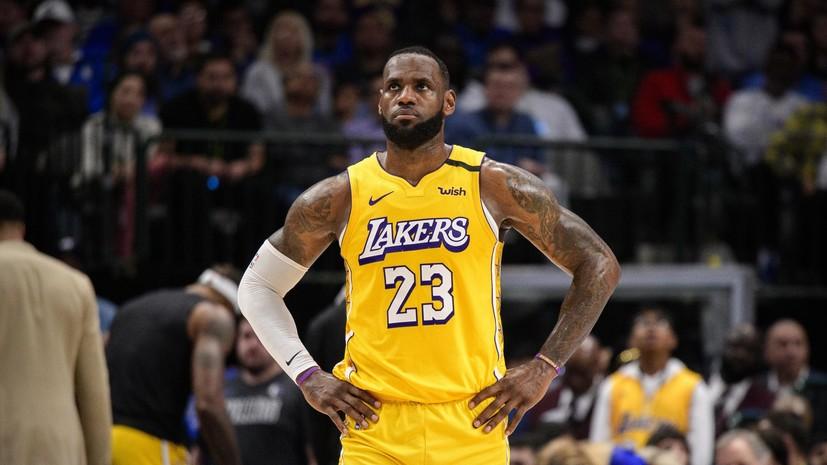 31 очко Джеймса помогло «Лейкерс» разгромить «Кливленд» в матче НБА