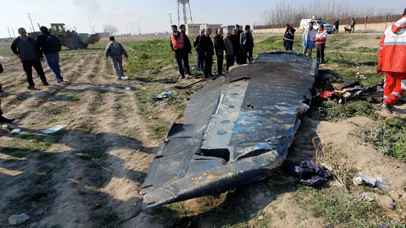 Иран отправил чёрный ящик с разбившегося самолёта во Францию