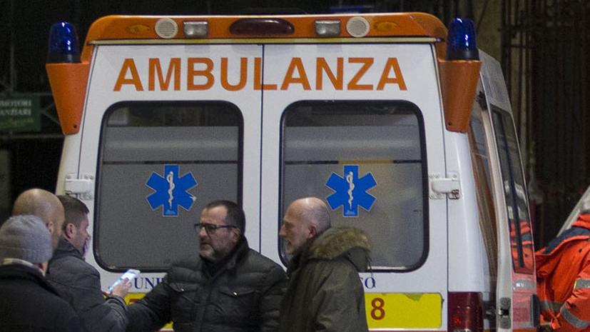 В Италии столкнулись поезда метро