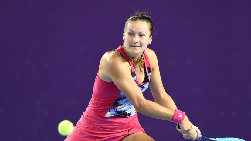 Словенская теннисистка из-за дыма испытала проблемы с дыханием во время квалификации Australian Open
