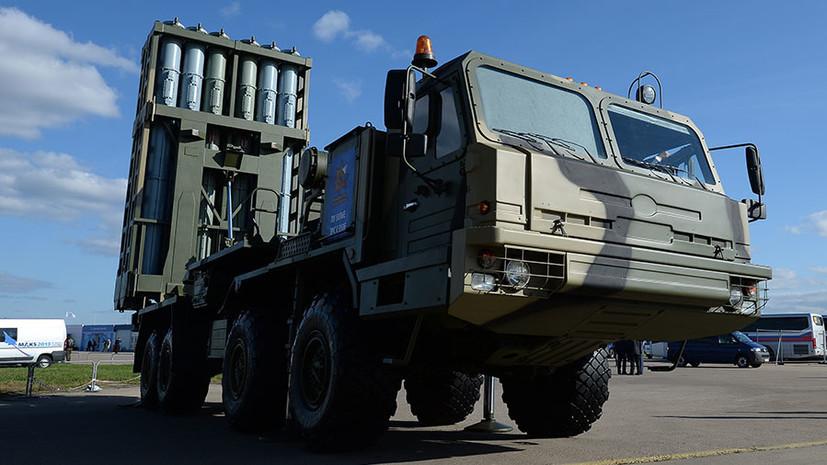 В Астраханской области прошли первые стрельбы из ЗРК С-350 «Витязь»