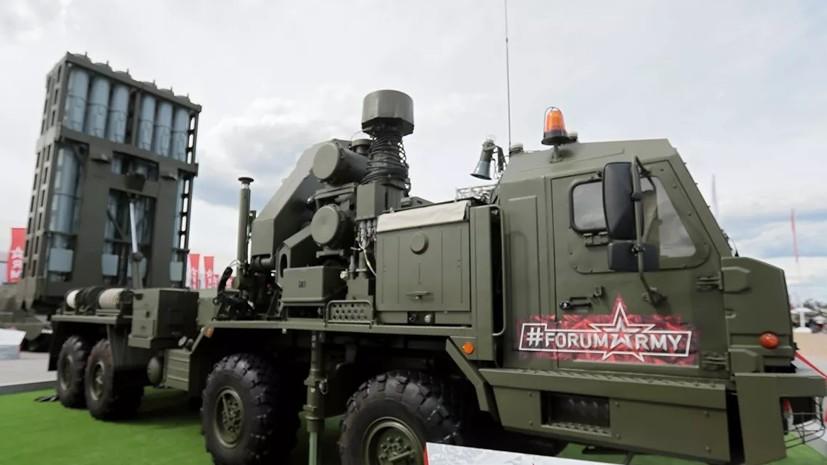 Первую ЗРС С-350 «Витязь» разместят в Ленинградской области