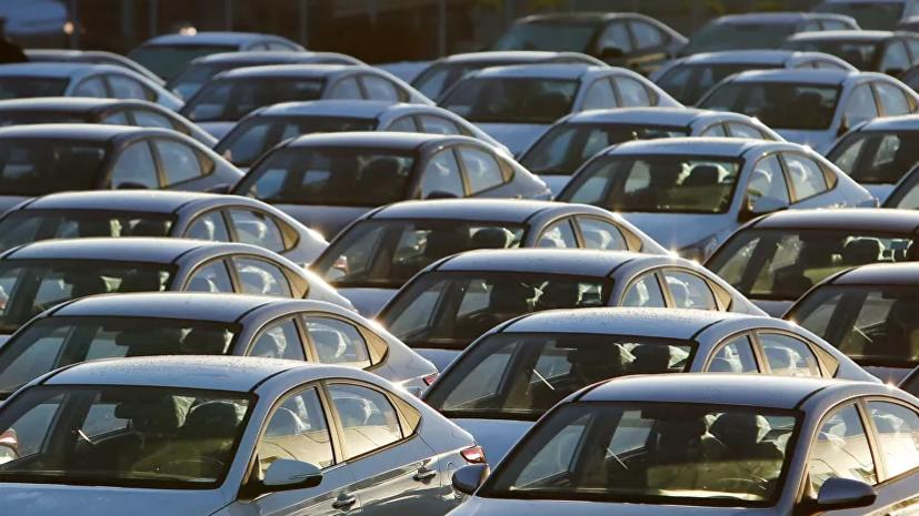 В России снизились продажи новых автомобилей