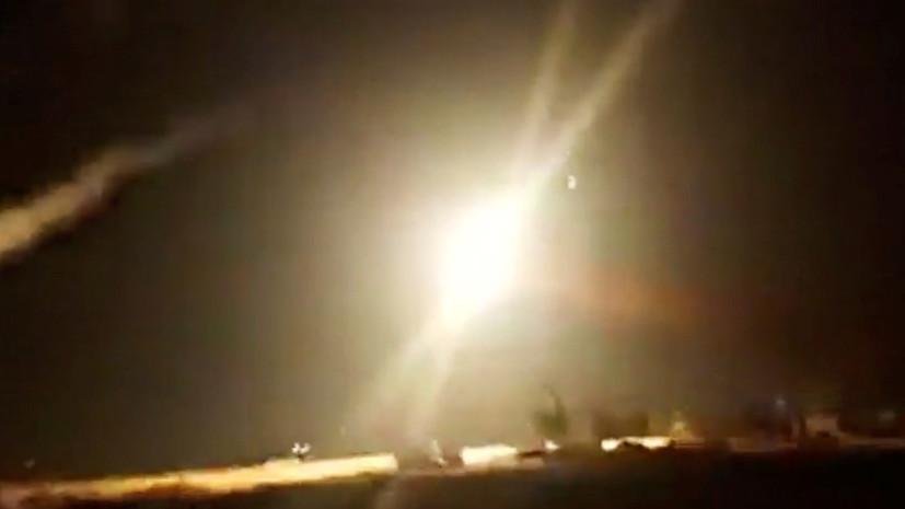 ПВО Сирии сбила часть атаковавших базу Тифор беспилотников и ракет