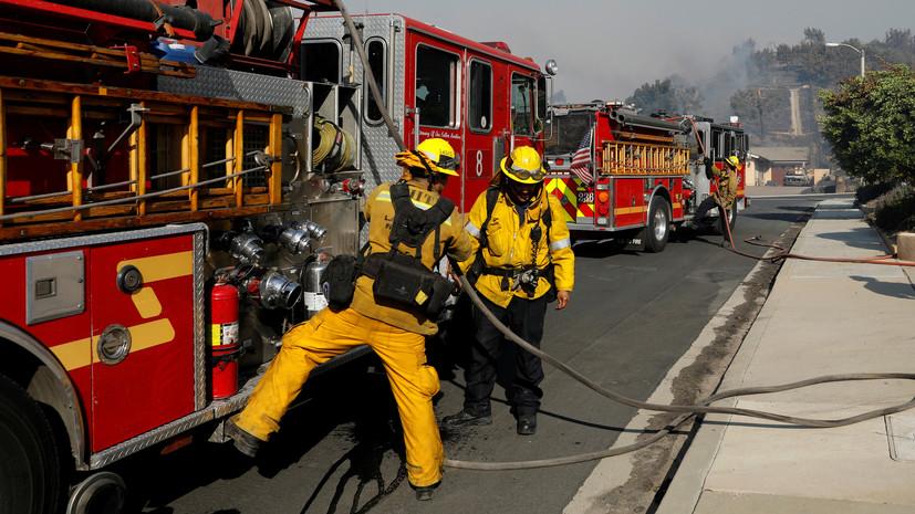 При сбросе топлива с самолёта в Лос-Анджелесе пострадали 26 человек