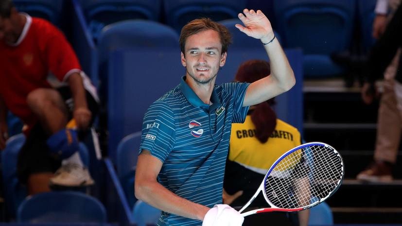 Медведев, Хачанов и Рублёв попали в список сеяных на Australian Open