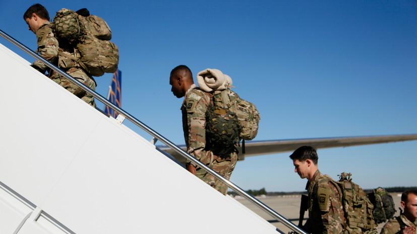 СМИ: США могут сократить военную помощь Ираку