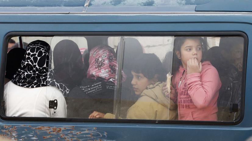 Жители массово возвращаются в Дейр-эз-Зор