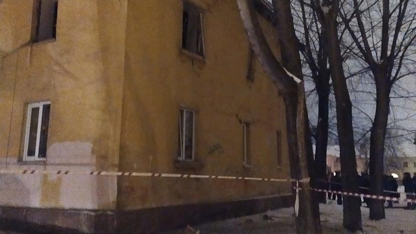 При обрушении в Уфе госпитализированы два человека