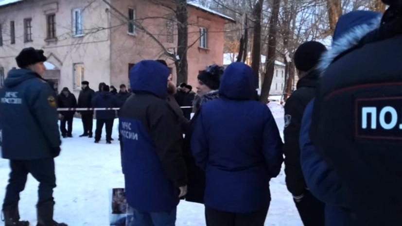 В Уфе организовали пункт временного размещения после хлопка газа