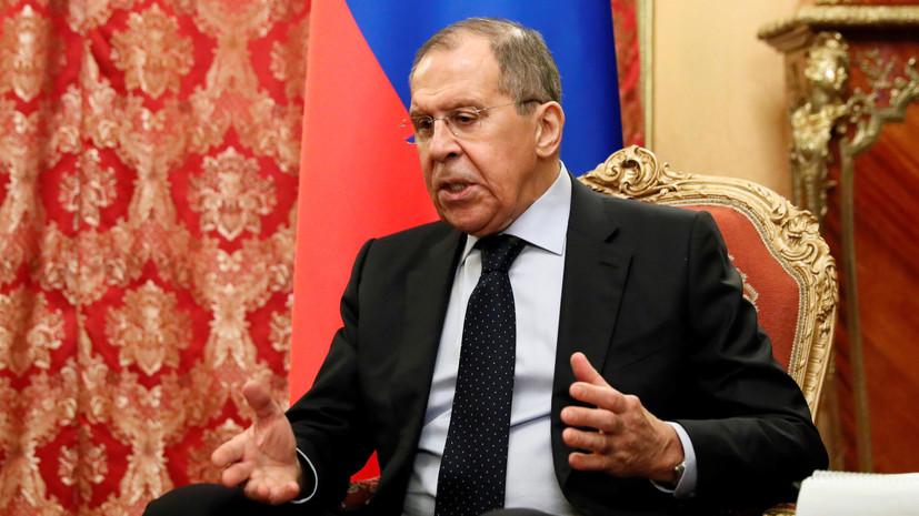 Лавров прокомментировал ситуацию с соглашением о перемирии в Ливии