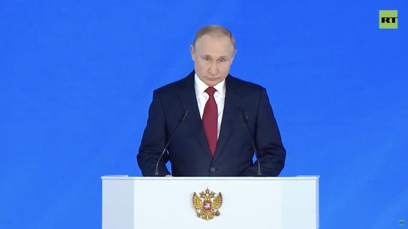 Путин заявил о необходимости роста темпов изменений в стране