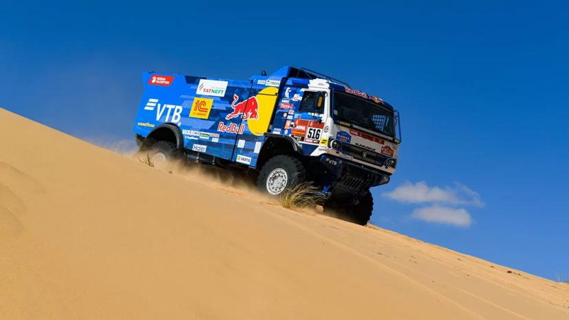 Экипаж Шибалова выиграл сокращённый десятый этап ралли-рейда «Дакар»