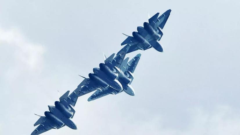 В правительстве России подтвердили планы продолжить программу по Су-57