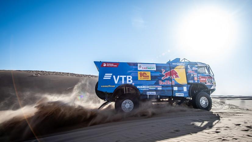 Победа Шибалова, продвижение Карякина и авария Алонсо: десятый этап «Дакара» был прерван из-за погодных условий