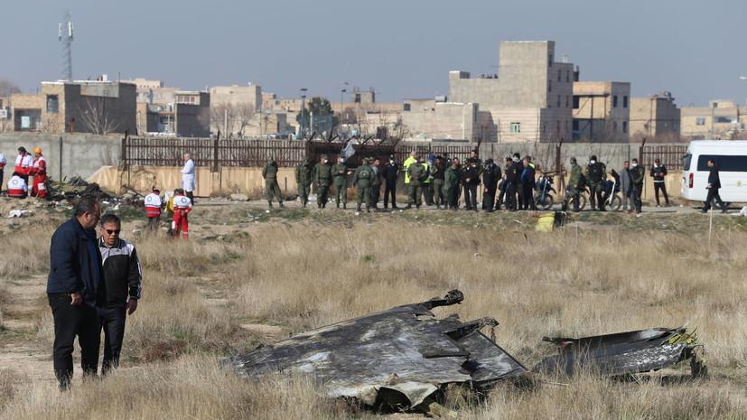 Установлены личности 148 погибших при крушении украинского Boeing