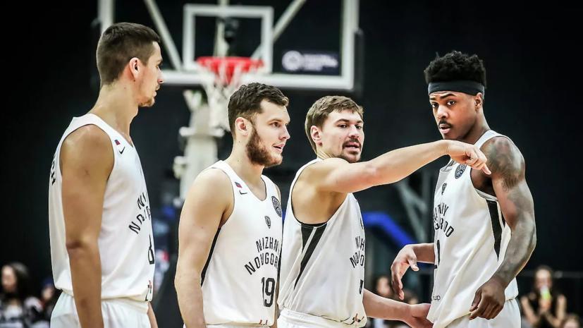 «Нижний Новгород» обыграл «Перистери» в матче баскетбольной ЛЧ