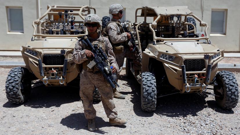 СМИ: Двое военнослужащих ранены при взрыве на юге Афганистана