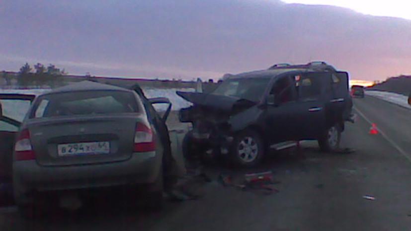 Четыре человека погибли в ДТП под Саратовом