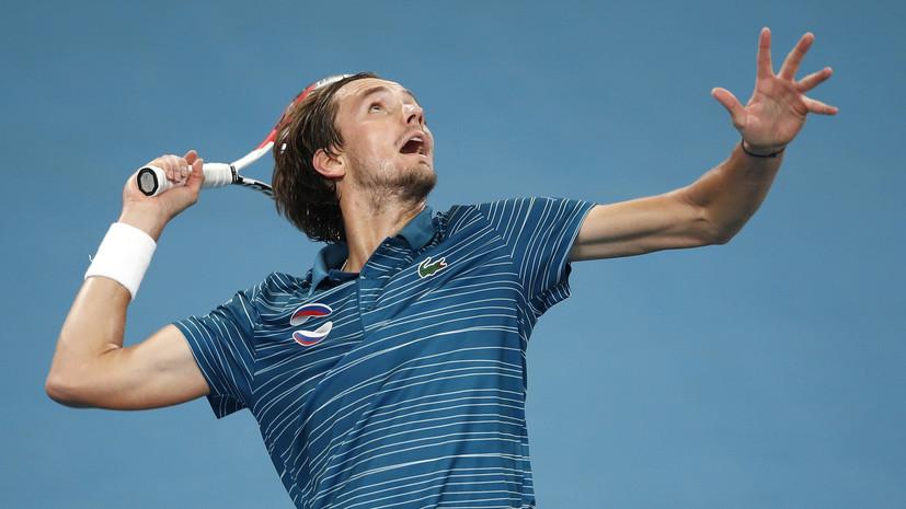 Стал известен соперник Медведева в первом круге Australian Open