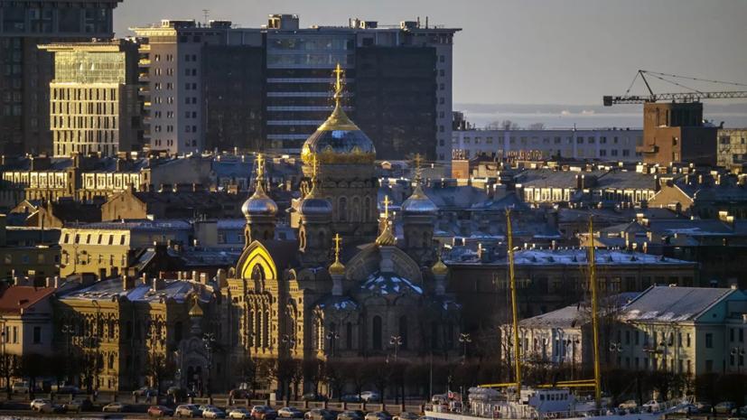 В Петербурге побит температурный рекорд для 16 января
