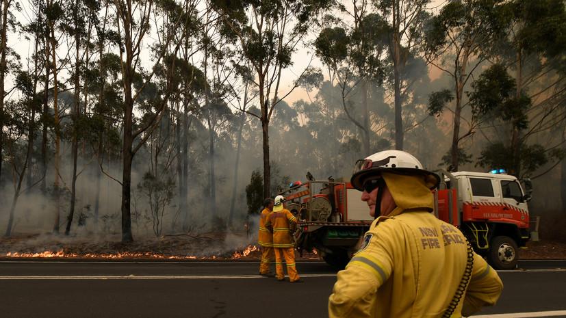 Вильфанд не исключил влияния пожаров в Австралии на погоду в России