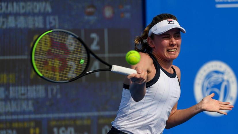 Камельзон: Александрова с каждым разом играет всё лучше и лучше