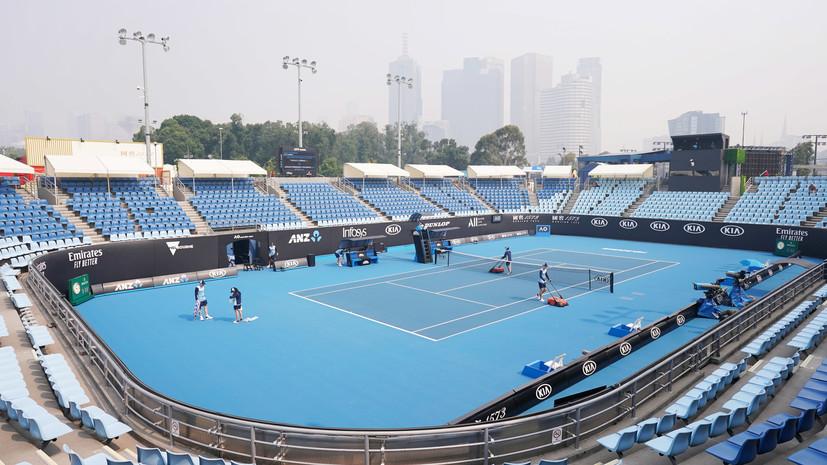 Директор Australian Open прокомментировал слухи о возможной отмене турнира