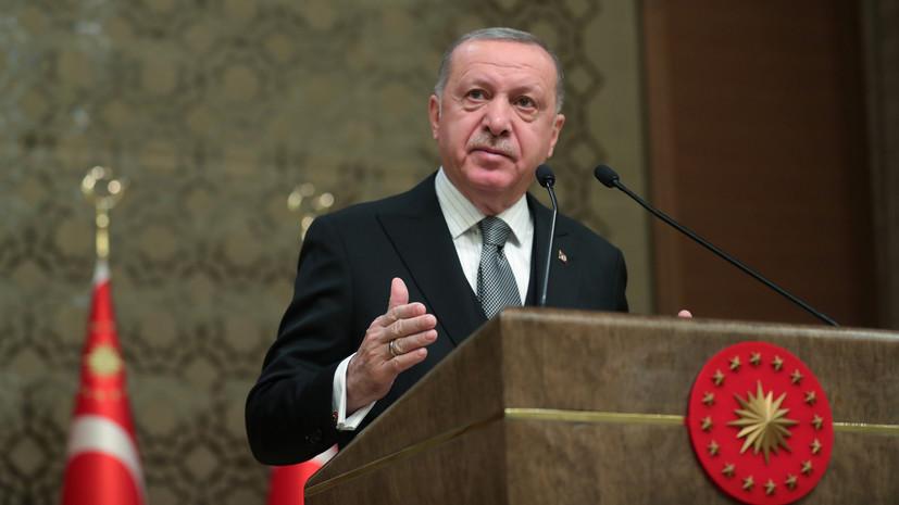 Эрдоган заявил об отправке турецких военных в Ливию