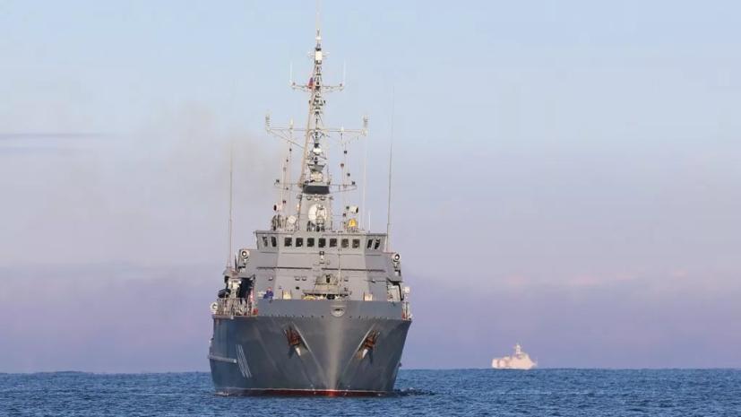 Тральщик «Иван Антонов» направился в Средиземное море впервые после принятия в состав ЧФ