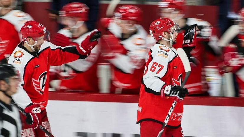 Гол Дацюка помог «Автомобилисту» взять верх над «Салаватом Юлаевым» в КХЛ