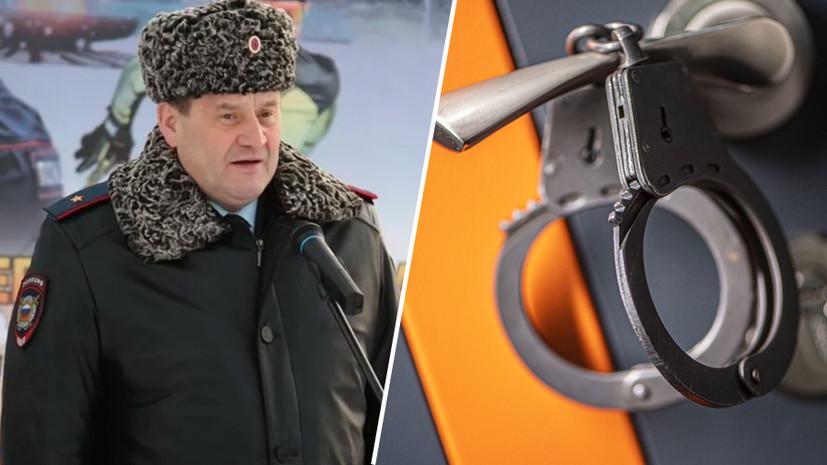 «В особо крупном размере»: главу МВД Коми задержали по подозрению в получении взятки