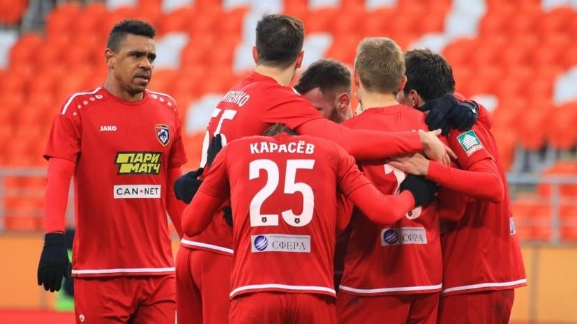 «Тамбову» запретили регистрацию новых футболистов