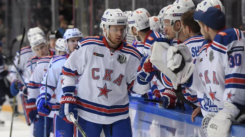 СКА обыграл «Йокерит» и одержал третью победу подряд в КХЛ