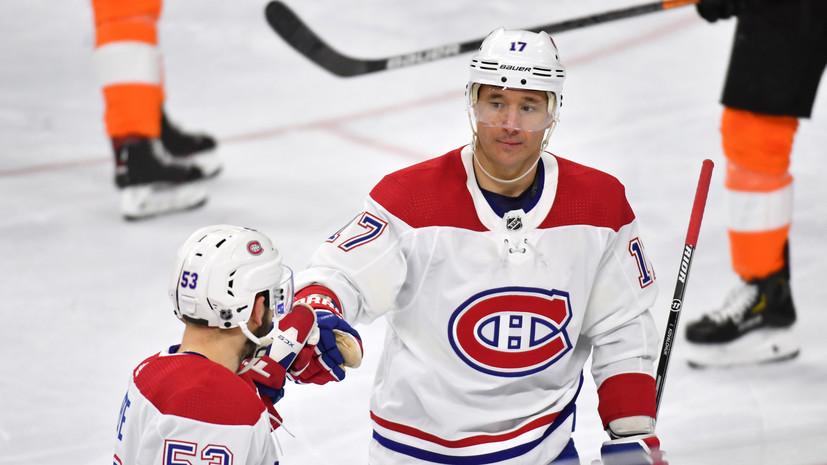 Дубль Ковальчука помог «Монреалю» победить «Филадельфию» в НХЛ