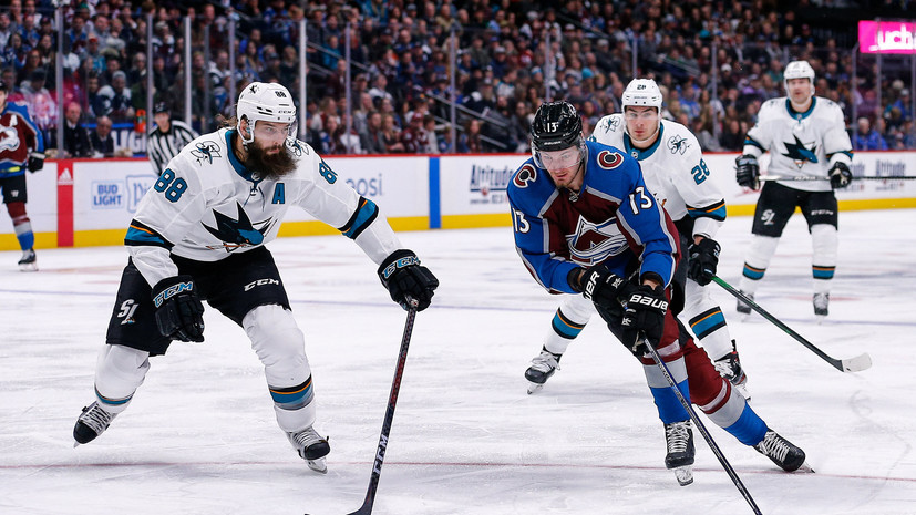 Шайба Ничушкина помогла «Колорадо» разгромить «Сан-Хосе» в матче НХЛ