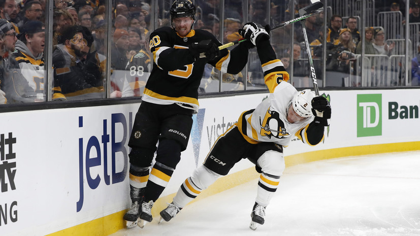 «Питтсбург» проиграл «Бостону» в НХЛ, Малкин очков не набрал