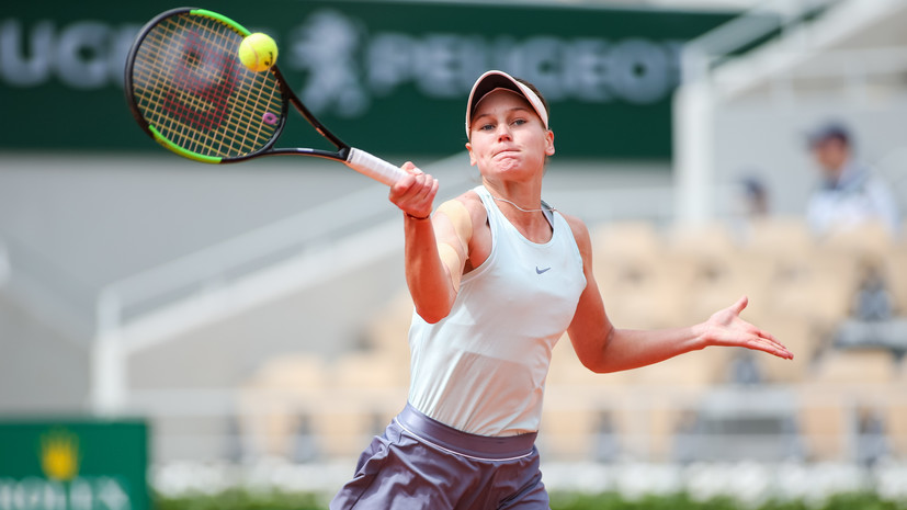 Кудерметова не сумела выйти в финал турнира WTA в Хобарте