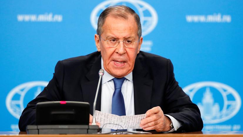 Лавров ответил на вопрос о должности в новом правительстве
