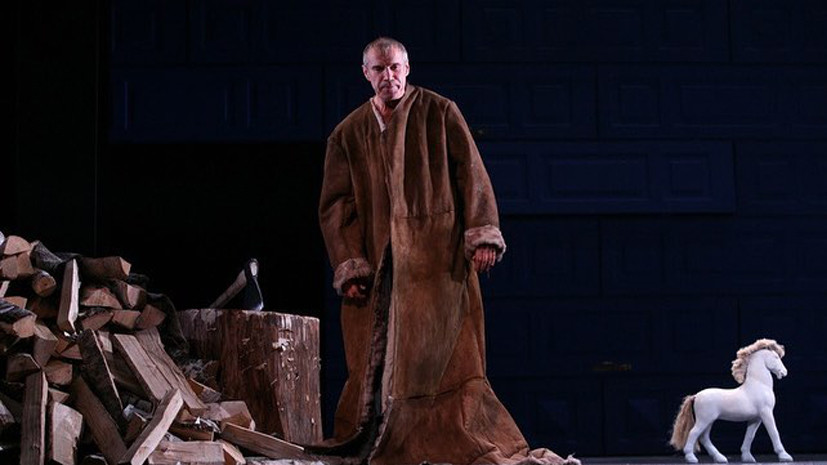 В «Современнике» пройдёт премьера спектакля «Папа»