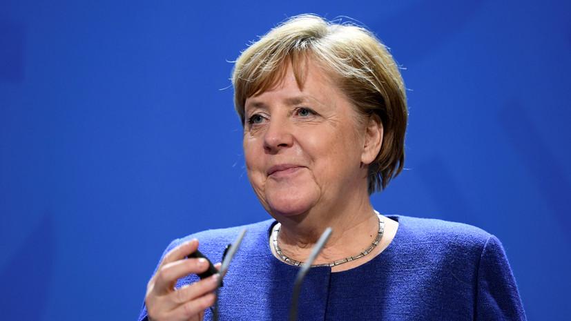Меркель посетит Стамбул 24 января для переговоров с Эрдоганом