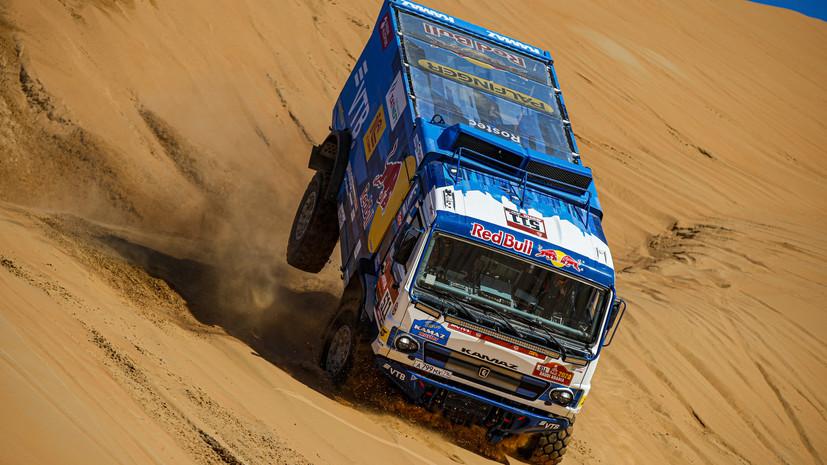 Каргинов: было важно подтвердить первенство «КамАЗ-мастер» в зачёте грузовиков