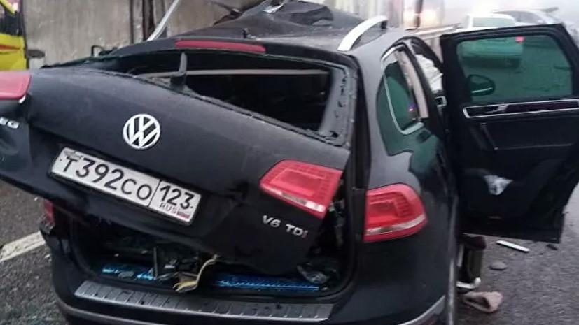 Власти Адыгейска рассказали о состоянии пострадавших в ДТП с участием 25 автомобилей